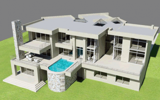 3 Story house plan 4 garages three stories swimming pool Nethouseplans