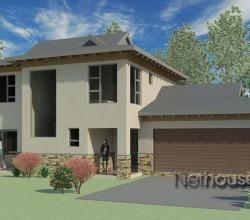 Bali style house plan, 3 bedroom Bali home design, double storey floor plans, house plans