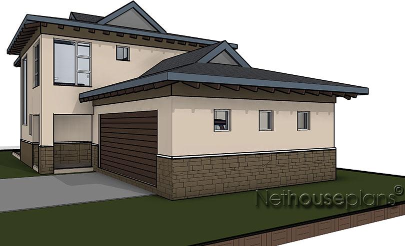 3 bedroom bali home design ba201d by