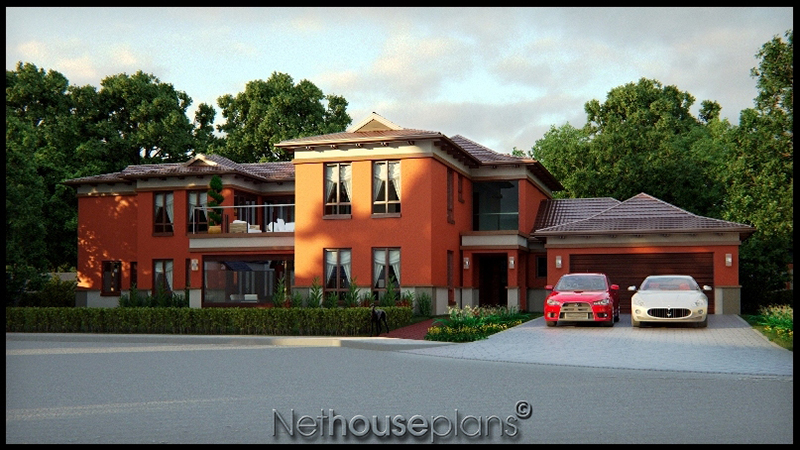 5 bedroom two story house plan building plans online for Bali style homes to build