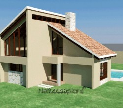 house plans Traditional style house plan, 4 bedroom, double storey floor plans, cosy 3 bedroom house plan