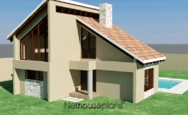 Traditional style house plan, 4 bedroom, double storey floor plans, cosy 3 bedroom house plan