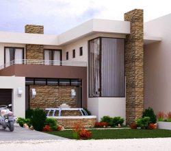 4 bedroom house plan M497D