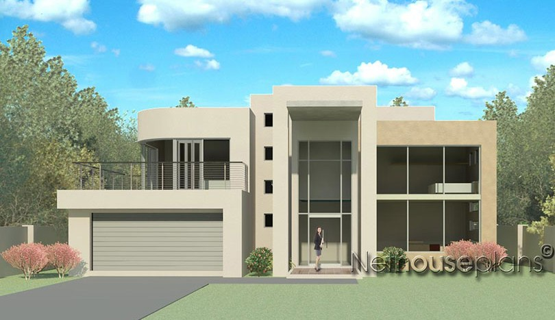 Delicieux Modern Contemporary Style, 4 Bedroom House Plan, Double Storey Floor Plans, Floor  Plan