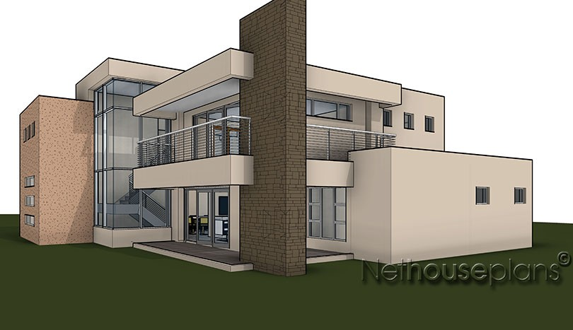 double story 3 bedroom house plans double storey 4 Bedroom house plans modern house plans blueprint ranch house plans house designs south africa, house plans south africa, South African House Designs, Modern contemporary style, 4 bedroom house plan, double storey floor plans.