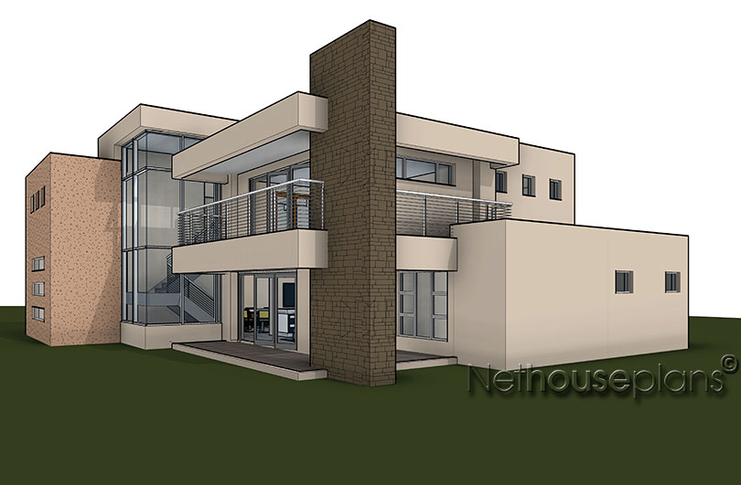 4 bedroom house plan m434d nethouseplans for 3 bedroom double storey house plans