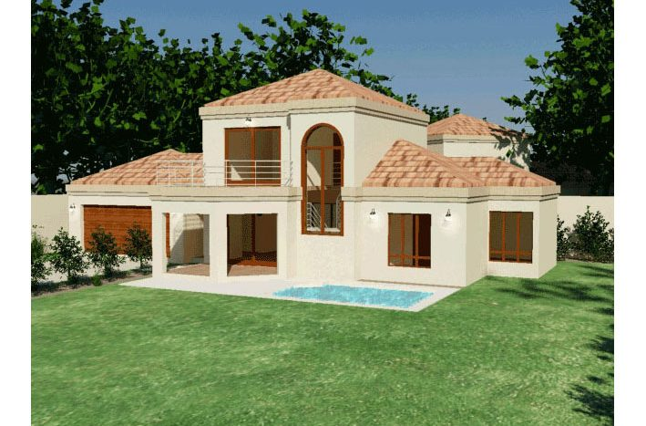 3 Bedroom Home Design South Africa Double Storey House Plan