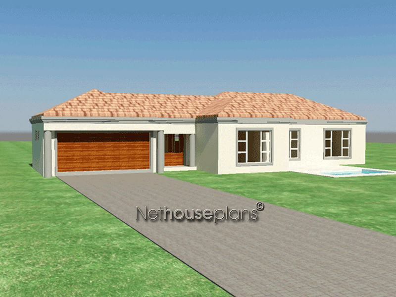 3 bedroom single storey house plan t171 for 3 bedroom ensuite house plans
