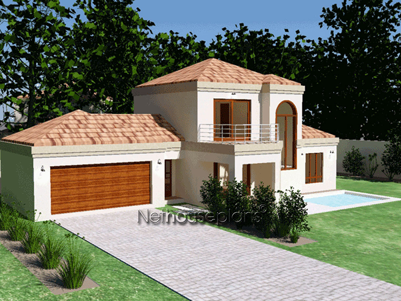 3 Bedroom Home Design South Africa Double Storey House Plan Nethouseplansnethouseplans