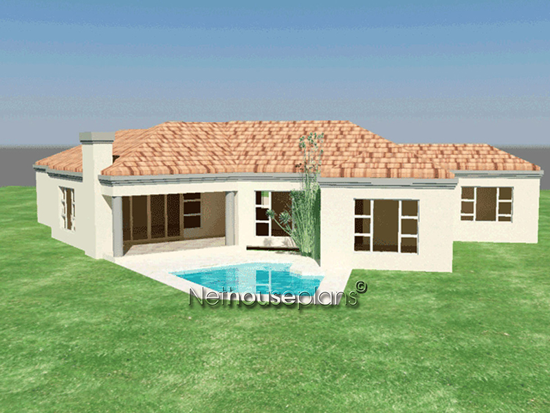3 Bedroom Tuscan Home Design T201 By