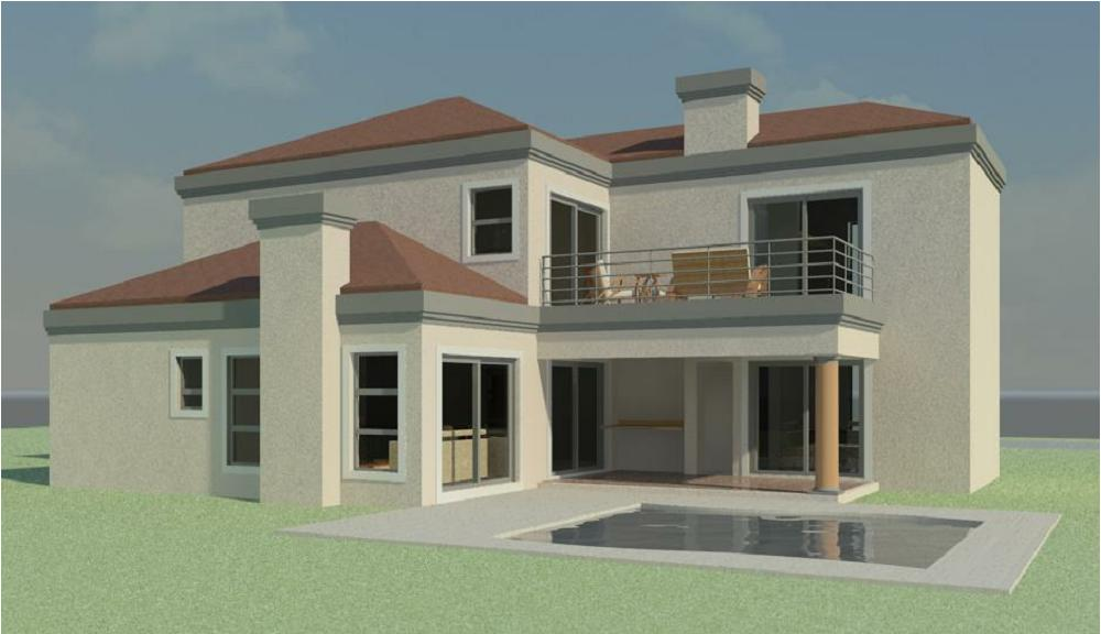 Double Storey House Plans By Net House Plans South Africa