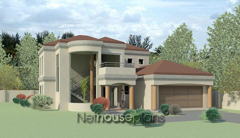 T382d nethouseplans 4 bedroom double storey house plans