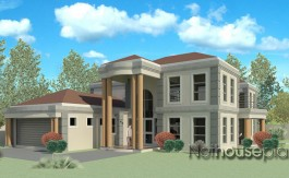 Modern tuscan style house plan, 5 bedroom , double storey floor plans, open plan kitchen