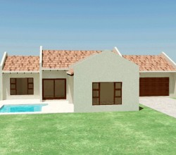 Traditional style house plan, 3 bedroom, single storey floor plans