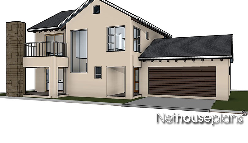 traditional house plan, 3 bedroom home