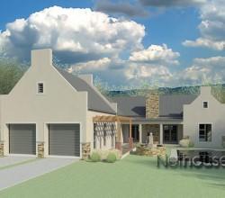 Traditional style house plan, 4 bedroom , single storey floor plans, modern cape dutch house plan, modern country home, traditional architecture style