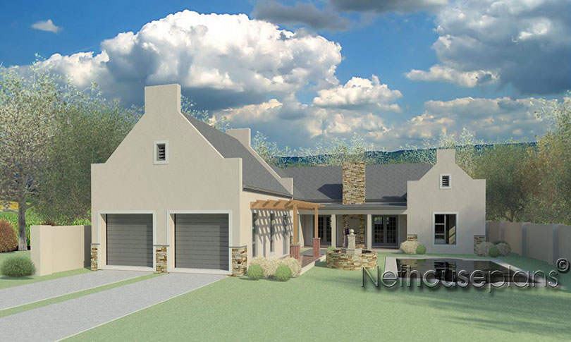 Cape dutch style home plans home design and style for Dutch house plans
