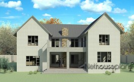 ranch style house plan, 5 bedroom , double storey floor plans, house plan, country architecture