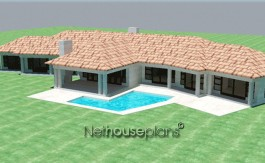 Traditional style house plans modern floor plan designer southern living house plans floorplanner peerutin architects architectural design house plans design your own house home plans craftsman house plans ranch house plans south africa, Traditional style, 4 bedroom house plan, single storey floor plans - NETHOUSEPLANS double story 3 bedroom house plans double storey 4 Bedroom house plans modern house plans blueprint ranch house plans