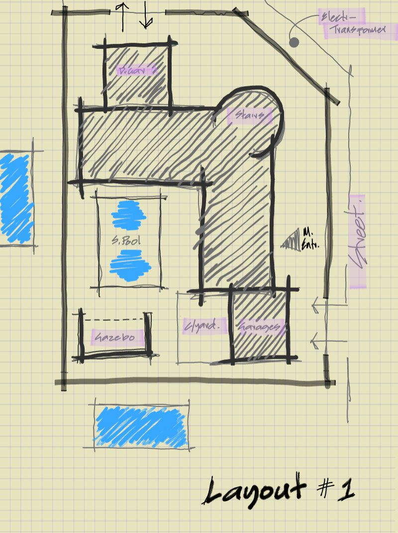 Fit house plans to site site plans nethouseplans for Home plot plan