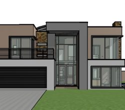 double storey house design, 4 bedroom house plan with photos, contemporary house design