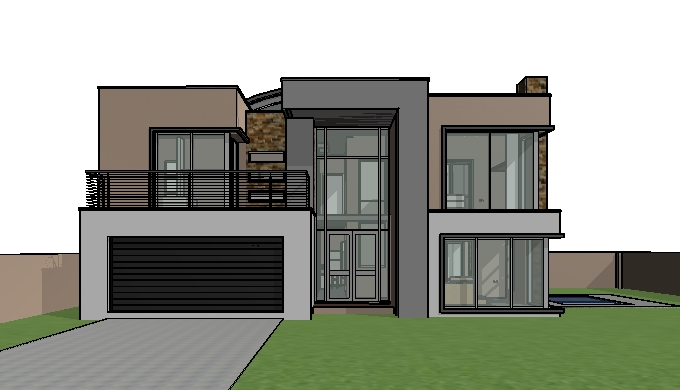 House design double storey house plan with photos for House design plans with photos
