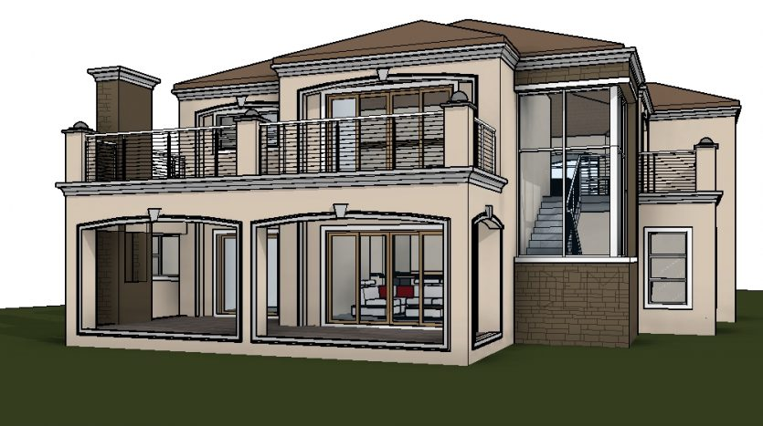 Beautiful Tuscan house plan designs by Nethouseplans, Fourways, South Africa