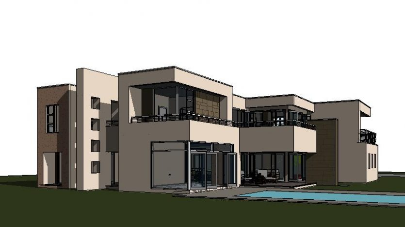 Double storey house plan C643D image by Nethouseplans