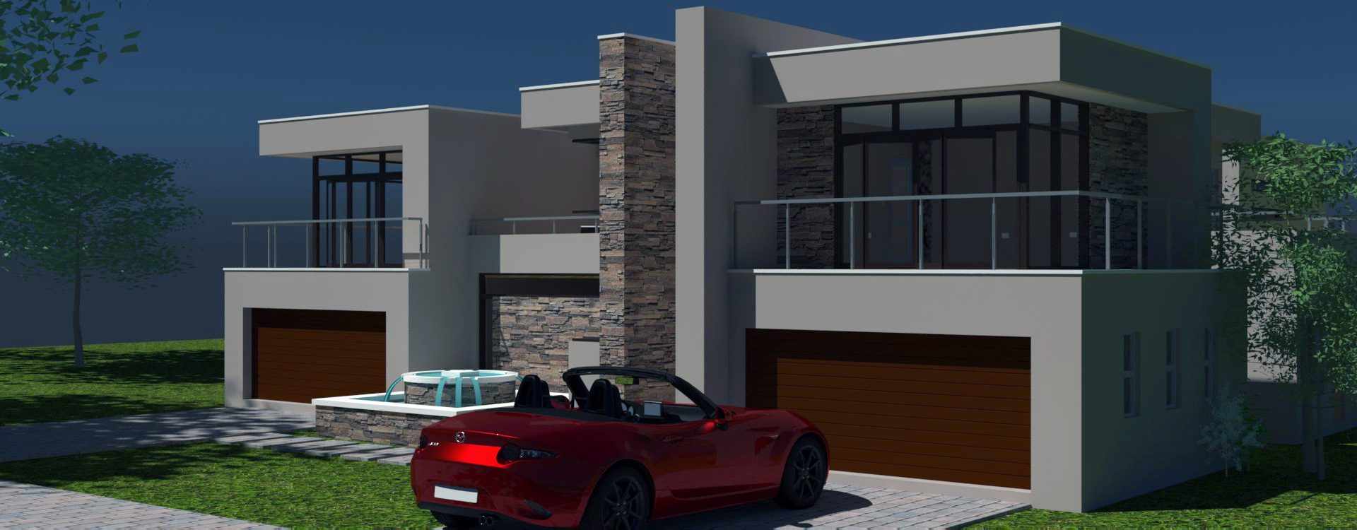 2 storey house design modern house plan 4 car garage house design contemporary