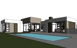 Single story house plan by Nethouseplans South Africa, House designs south africa, South African House Designs, 3 bedroom online house plans South Africa