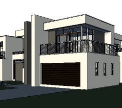 Stunning home design with 4 garages is offered by Net house plans South Africa