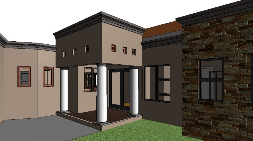 architectural designs south africa, 3 bedroom house designs south africa, single storey house plans